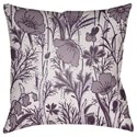 Surya Chinoiserie Floral Pillow - Item Number: CF030-2222