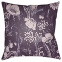 Surya Chinoiserie Floral Pillow - Item Number: CF032-2020