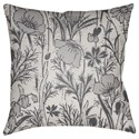 Surya Chinoiserie Floral Pillow - Item Number: CF035-2222