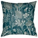 Surya Chinoiserie Floral Pillow - Item Number: CF036-2222