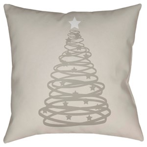 Surya Christmas Tree Pillow