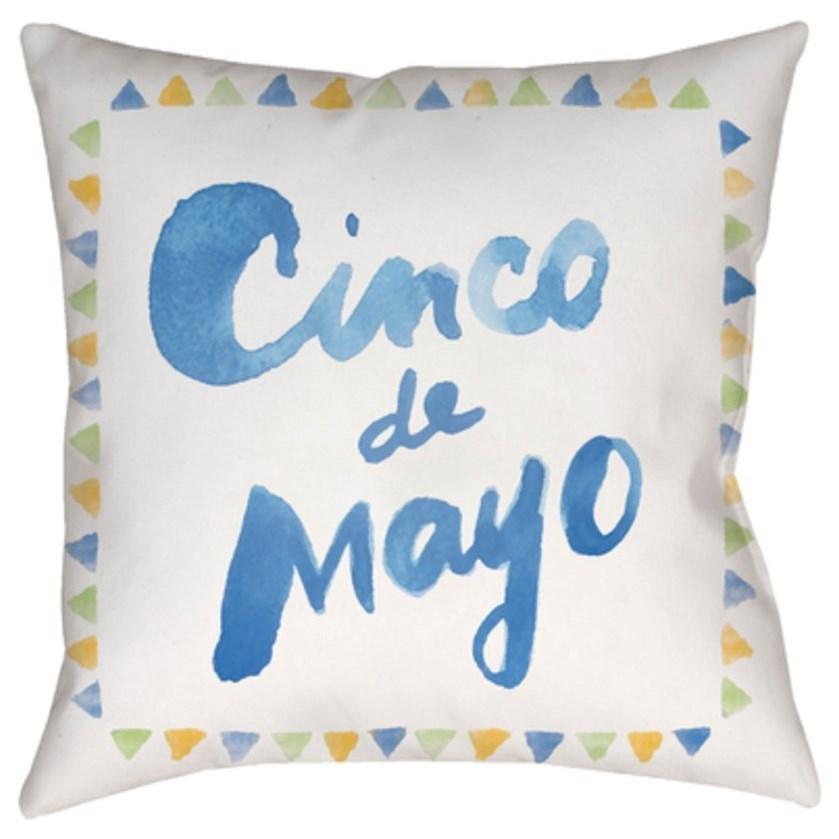 Surya Cinco Pillow - Item Number: WMAYO029-1818