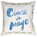 Surya Cinco Pillow - Item Number: WMAYO029-1818