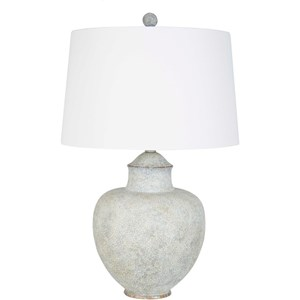 Surya Cooper Antiqued Table Lamp