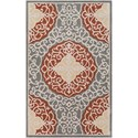 Ruby-Gordon Accents Cosmopolitan 2' x 3' Rug - Item Number: COS9303-23