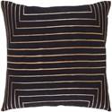 Surya Crescent Pillow - Item Number: CSC005-2222D
