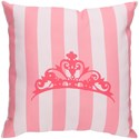 Surya Crown Pillow - Item Number: LIL021-2020