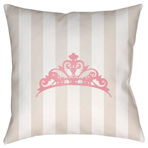 Surya Crown Pillow