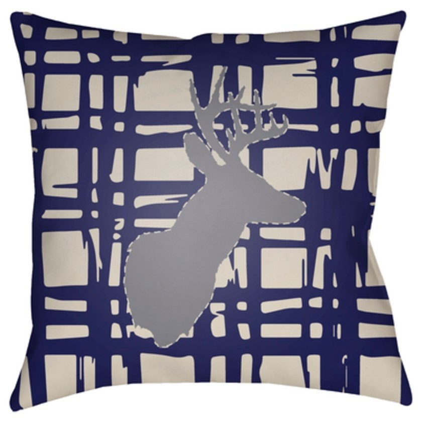 Surya Deer Pillow - Item Number: DEER002-1818