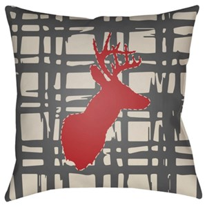 Surya Deer Pillow