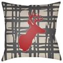 Surya Deer Pillow - Item Number: DEER003-1818