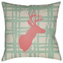 Surya Deer Pillow - Item Number: DEER004-2020