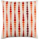 Surya Dewdrop Pillow - Item Number: DE001-2222D