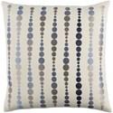 Surya Dewdrop Pillow - Item Number: DE004-1818P