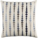 Surya Dewdrop Pillow - Item Number: DE004-2222