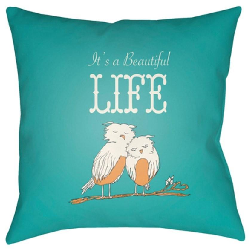Surya Doodle Pillow - Item Number: DO017-1818