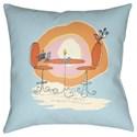 Surya Doodle Pillow - Item Number: DO023-1818