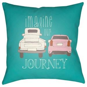 Surya Doodle Pillow