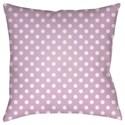 Surya Dottie Pillow - Item Number: LIL048-1818