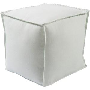 Surya Evelyn 18 x 18 x 18 Cube Pouf