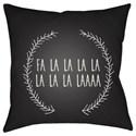 Surya Falalalala Pillow - Item Number: HDY024-1818