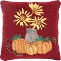 Surya Fall Harvest Pillow - Item Number: FHI001-1818P