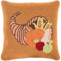 Surya Fall Harvest Pillow - Item Number: FHI004-1818