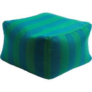 Surya Finn 22 x 22 x 14 Cube Pouf