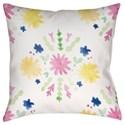 Surya Flores Burst Pillow - Item Number: WMAYO018-2020