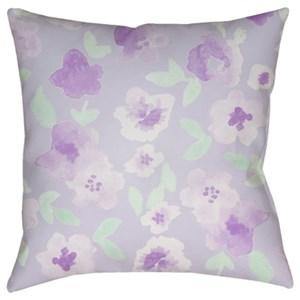 Surya Flowers Pillow