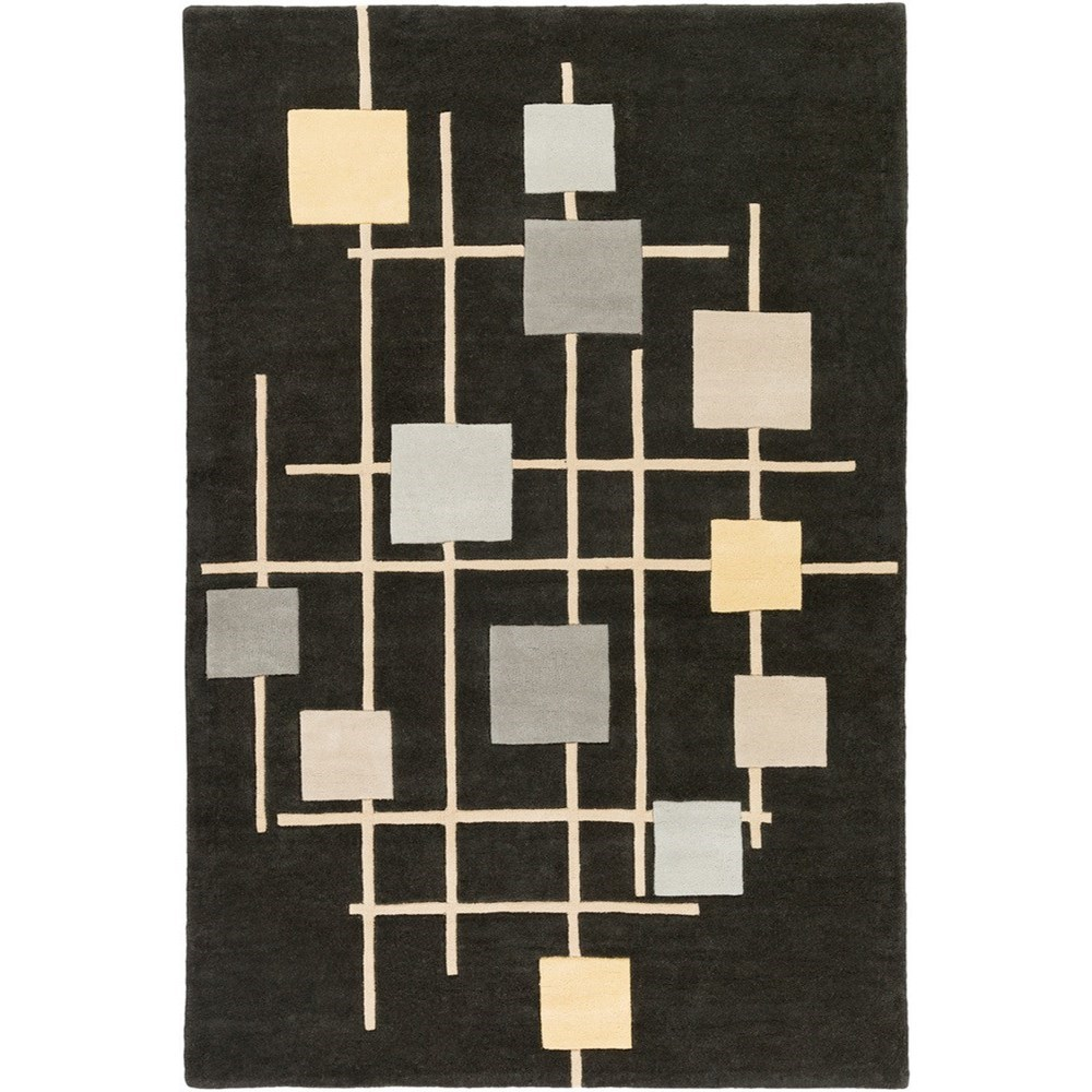 Forum 6' x 9' Kidney Rug by Surya at Jacksonville Furniture Mart