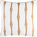 Surya Graphic Stripe Pillow - Item Number: GS002-2222