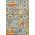 """Surya Hannon Hill 5' x 7' 6"""" Rug - Item Number: HNO1005-576"""