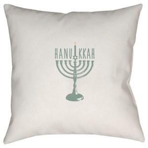 Surya Hanukkah Menorah Pillow