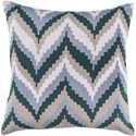 Surya Ikat Chevron Pillow - Item Number: AR053-1818