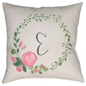 Surya Initials II Pillow - Item Number: INT031-2020