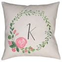 Surya Initials II Pillow - Item Number: INT037-2020