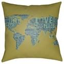 Surya Jetset Pillow - Item Number: JT007-1818