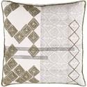 Surya Jubba Pillow - Item Number: JBA001-2222D