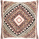 Ruby-Gordon Accents Kazinga Pillow - Item Number: KAZ001-1818D