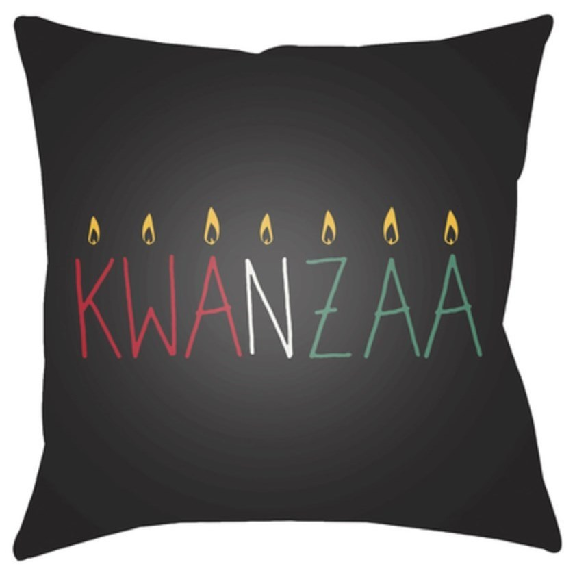 Surya Kwanzaa II Pillow - Item Number: HDY047-2020