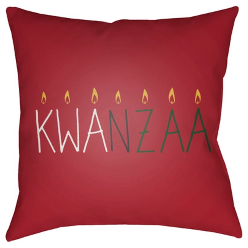 Surya Kwanzaa II Pillow - Item Number: HDY049-1818
