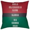 Surya Kwanzaa III Pillow - Item Number: HDY051-1818