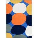 Ruby-Gordon Accents Leap Frog 3' x 5' Rug - Item Number: LPF8009-35