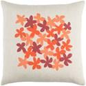 Surya Little Flower Pillow - Item Number: LE001-1818D