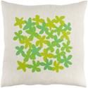 Surya Little Flower Pillow - Item Number: LE003-2020