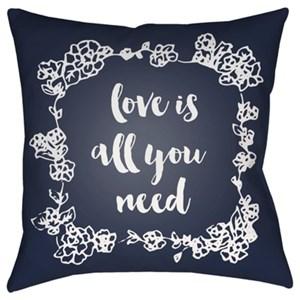 Surya Love All You Need Pillow