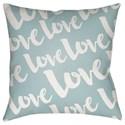 Surya Love Pillow - Item Number: HEART013-1818