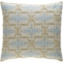 Surya Mercury Pillow - Item Number: MER002-1818D