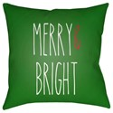 Surya Merry Bright Pillow - Item Number: HDY065-2020